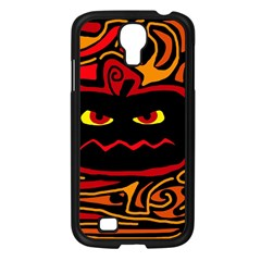 Halloween Decorative Pumpkin Samsung Galaxy S4 I9500/ I9505 Case (black) by Valentinaart