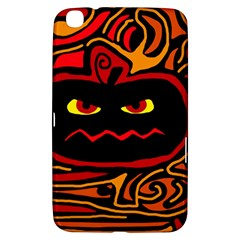 Halloween Decorative Pumpkin Samsung Galaxy Tab 3 (8 ) T3100 Hardshell Case  by Valentinaart