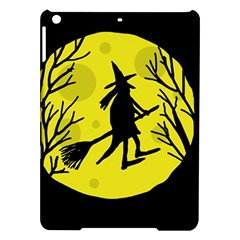 Halloween Witch   Yellow Moon Ipad Air Hardshell Cases by Valentinaart
