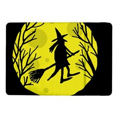 Halloween Witch   Yellow Moon Samsung Galaxy Tab Pro 10 1  Flip Case by Valentinaart
