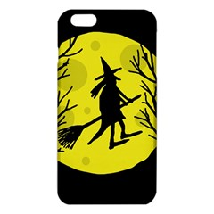 Halloween Witch   Yellow Moon Iphone 6 Plus/6s Plus Tpu Case by Valentinaart