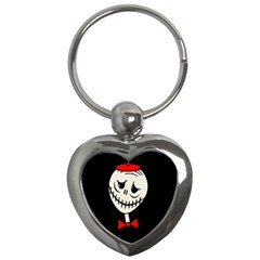 Halloween Monster Key Chains (heart)  by Valentinaart