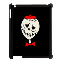 Halloween Monster Apple Ipad 3/4 Case (black) by Valentinaart