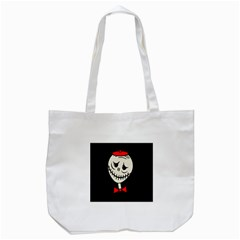 Halloween Monster Tote Bag (white) by Valentinaart