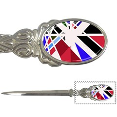 Decorative Flag Design Letter Openers by Valentinaart