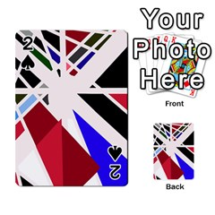 Decorative Flag Design Playing Cards 54 Designs  by Valentinaart