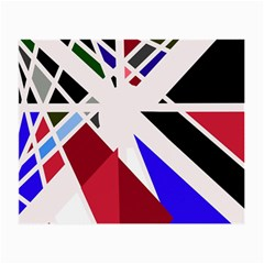 Decorative Flag Design Small Glasses Cloth (2 Side) by Valentinaart