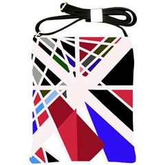 Decorative Flag Design Shoulder Sling Bags by Valentinaart