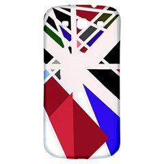 Decorative Flag Design Samsung Galaxy S3 S Iii Classic Hardshell Back Case by Valentinaart