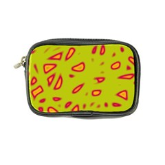 Yellow neon design Coin Purse by Valentinaart