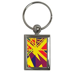 Hot Abstraction Key Chains (rectangle)  by Valentinaart