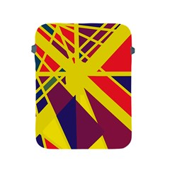 Hot Abstraction Apple Ipad 2/3/4 Protective Soft Cases by Valentinaart