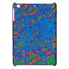 Colorful neon chaos Apple iPad Mini Hardshell Case by Valentinaart