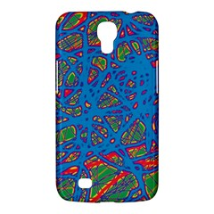 Colorful Neon Chaos Samsung Galaxy Mega 6 3  I9200 Hardshell Case by Valentinaart