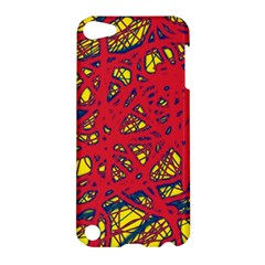 Yellow and red neon design Apple iPod Touch 5 Hardshell Case