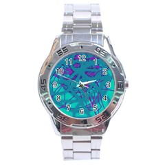 Chaos Stainless Steel Analogue Watch