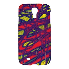 Abstract High Art Samsung Galaxy S4 I9500/i9505 Hardshell Case by Valentinaart