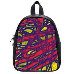 Abstract High Art School Bags (small)  by Valentinaart