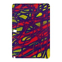 Abstract High Art Samsung Galaxy Tab Pro 10 1 Hardshell Case by Valentinaart