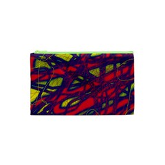 Abstract High Art Cosmetic Bag (xs) by Valentinaart