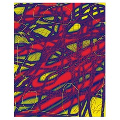 Abstract High Art Drawstring Bag (small) by Valentinaart