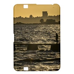 River Plater River Scene At Montevideo Kindle Fire Hd 8 9  by dflcprints