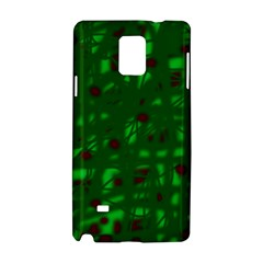 Green  Samsung Galaxy Note 4 Hardshell Case