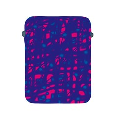 Blue And Pink Neon Apple Ipad 2/3/4 Protective Soft Cases by Valentinaart