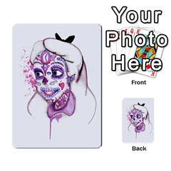 Alice Sugar Skull Multi Purpose Cards (rectangle)