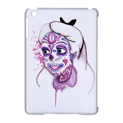 Alice Sugar Skull Apple Ipad Mini Hardshell Case (compatible With Smart Cover) by lvbart