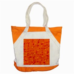 Orange Accent Tote Bag by Valentinaart