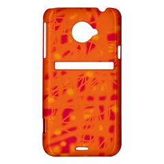 Orange HTC Evo 4G LTE Hardshell Case