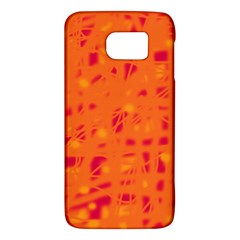 Orange Galaxy S6 by Valentinaart