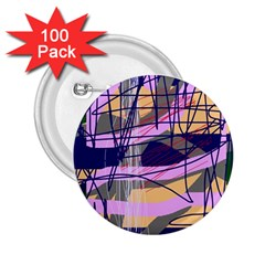 Abstract High Art By Moma 2 25  Buttons (100 Pack)  by Valentinaart