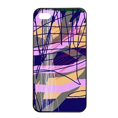 Abstract High Art By Moma Apple Iphone 4/4s Seamless Case (black) by Valentinaart