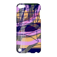 Abstract High Art By Moma Apple Ipod Touch 5 Hardshell Case by Valentinaart