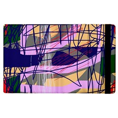 Abstract high art by Moma Apple iPad 3/4 Flip Case by Valentinaart