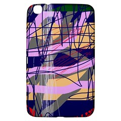 Abstract High Art By Moma Samsung Galaxy Tab 3 (8 ) T3100 Hardshell Case  by Valentinaart