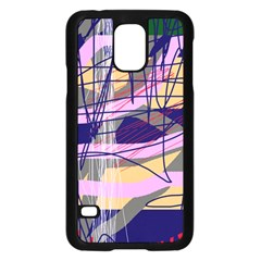 Abstract High Art By Moma Samsung Galaxy S5 Case (black) by Valentinaart