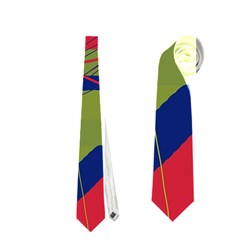 High Art By Moma Neckties (two Side)  by Valentinaart