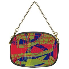 High Art By Moma Chain Purses (one Side)  by Valentinaart