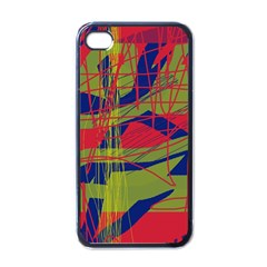 High Art By Moma Apple Iphone 4 Case (black) by Valentinaart