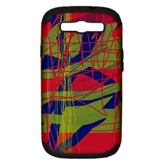 High Art By Moma Samsung Galaxy S Iii Hardshell Case (pc+silicone) by Valentinaart