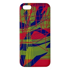 High Art By Moma Apple Iphone 5 Premium Hardshell Case by Valentinaart