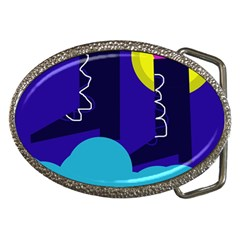 Walking On The Clouds  Belt Buckles by Valentinaart
