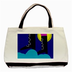 Walking On The Clouds  Basic Tote Bag by Valentinaart