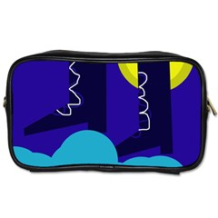 Walking On The Clouds  Toiletries Bags 2 Side by Valentinaart