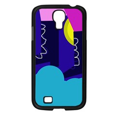 Walking On The Clouds  Samsung Galaxy S4 I9500/ I9505 Case (black) by Valentinaart