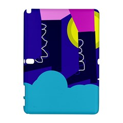 Walking On The Clouds  Samsung Galaxy Note 10 1 (p600) Hardshell Case by Valentinaart
