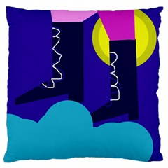 Walking On The Clouds  Standard Flano Cushion Case (two Sides) by Valentinaart
